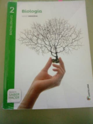 libro biologia bachillerato santillana