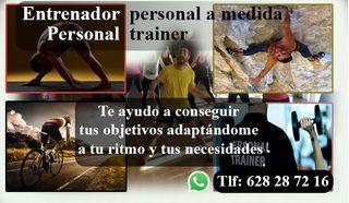 Personal trainer - Entrenador personal