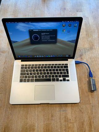 MacBook Pro 15 2015 16GB RAM 1,25TB SSD