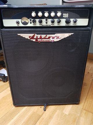 Amplificador de Bajo Ashdown MAG420 combo