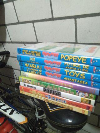Popeye.....y 11 más. DISNEY