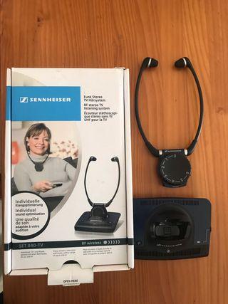 Auriculares Sennheiser Set 840 TV