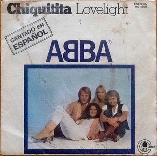 "ABBA ""CHIQUITITA"" single-7"""