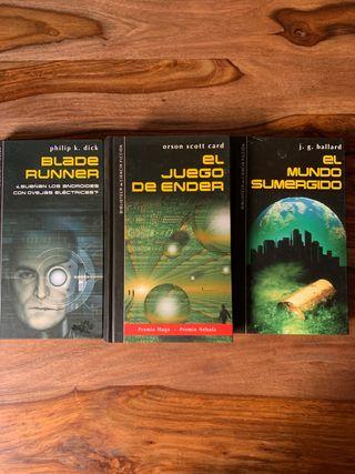 Pack libros ciencia ficción