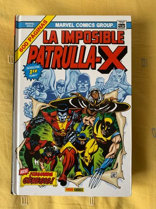 Cómic La Imposible Patrulla X
