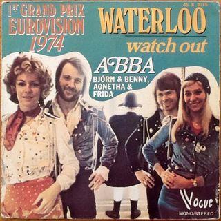 """ABBA """"WATERLOO"""" single-7"""""""