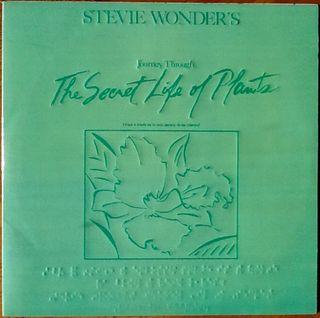 """STEVIE WONDER """"THE SECRET LIFE OF PLANTS"""" LPx2"""