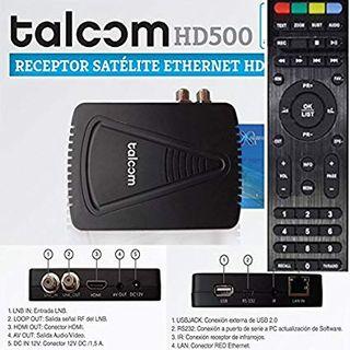 Talcom hd500. Decodificador