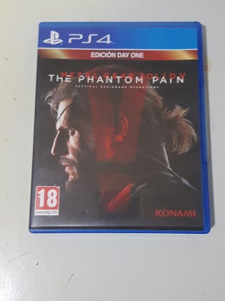 Metal Gear Solid The Phanton Pain