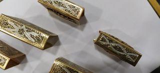 Oro de Toledo cerillera