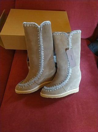 Botas Mou nuevas!!!!