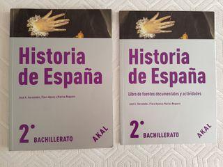 Historia de España 2° Bachillerato y Uned