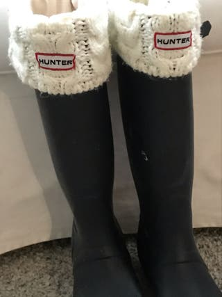 Botas altas Hunter con calcetín