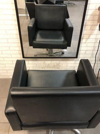 Sillón peluquería hidráulico, 4 disponibles