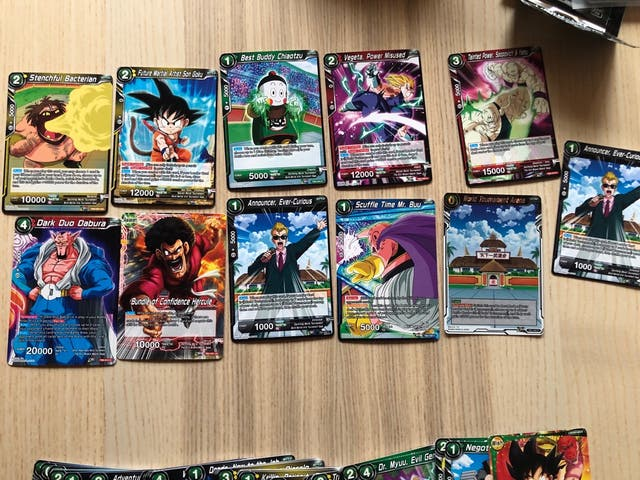 +300 cartas dragon ball