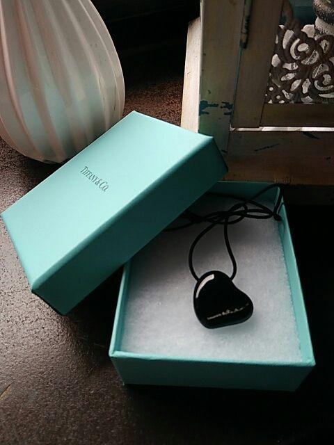 Collar corazon Tiffany &, original regalo