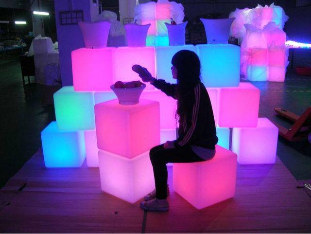 Muebles luminosos
