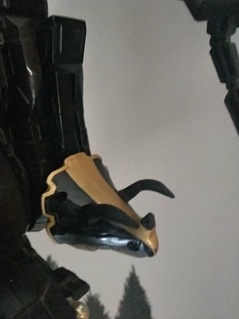 Piezas 3d power Ranger