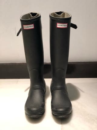 Botas hunter negras