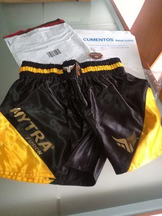 pantalones muay thai XL