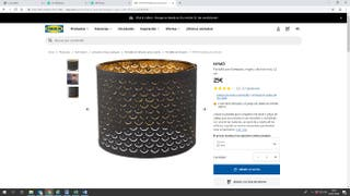 LAMPARA TECHO IKEA