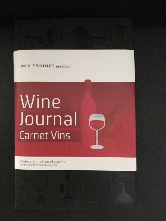 Agenda moleskine especial vino.