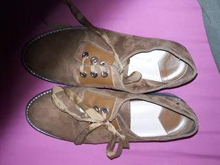 zapatos con plataforma, casi a estrenar