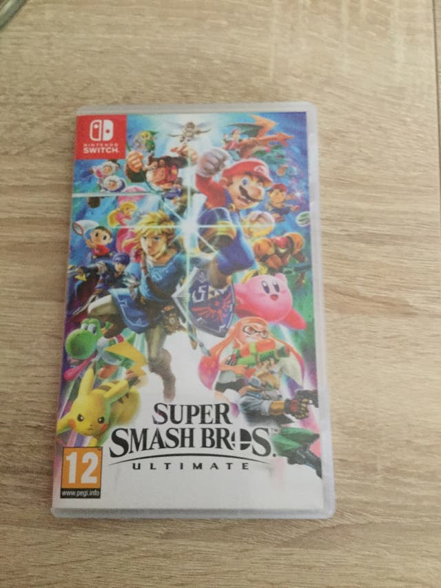 Videojuego Smash Bros