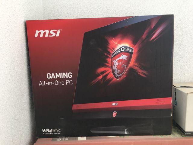 Ordenador gaming (MSI all-in-one gaming 24 6QE)