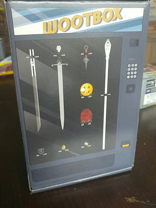 caja decorativa wootbox maquina expendedora