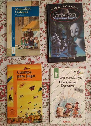varios libros infantiles