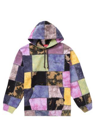 Supreme patchwork hoodie