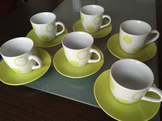 Juego tazas de desayuno