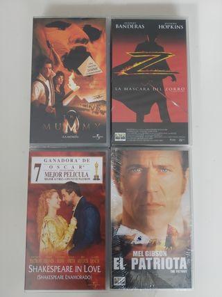 Lote de películas VHS NUEVAS