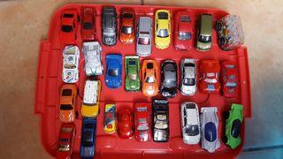 46 coches de diferentes tamaño