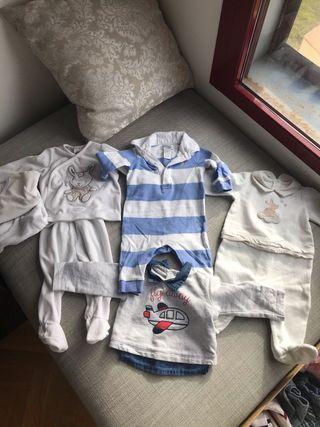 Lote Ropa Bebe Marca 1-4 meses