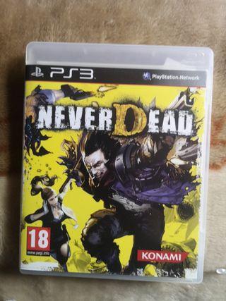 never Dead PS3 como nuevo