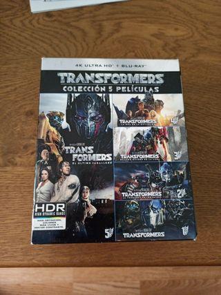 Transformers 1-5 Pack BluRay 4K UHD