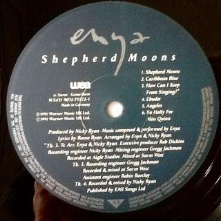 """ENYA """"SHEPHERD MOONS"""" LP"""