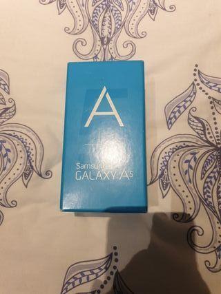 caja vacía Samsung A5