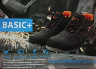 Zapato seguridad Lampedusa