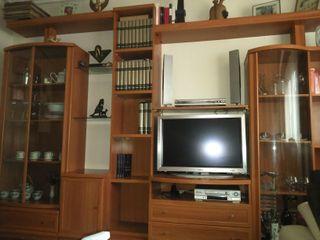 Mueble salón color cerezo, buen estado