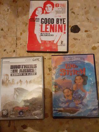 película y juegos