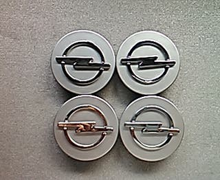 Tapabujes centro de ruedas llantas Opel gris 59mm