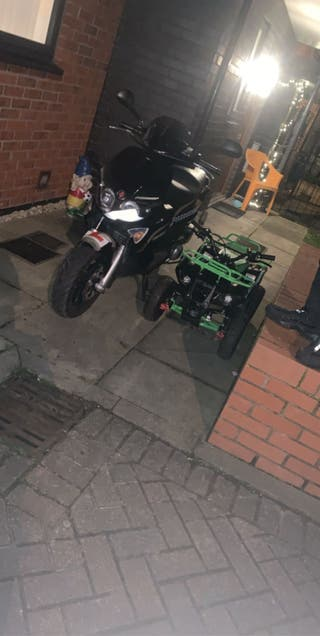 Petrol 50cc MiniQuad