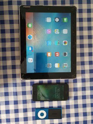 iPad, ipod y iphone 5