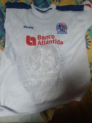 equipación del olimpia de Honduras