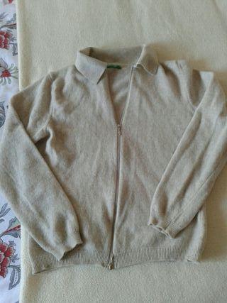Chaqueta pura lana virgen Benetton S