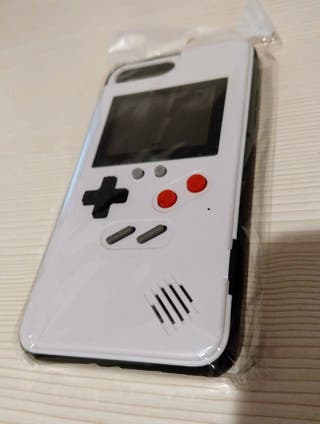 Funda Gris iPhone Gameboy