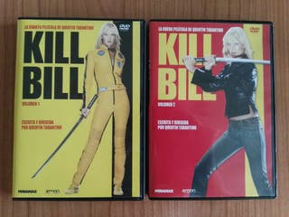 OFERTA!! Películas Kill Bill 1 y 2